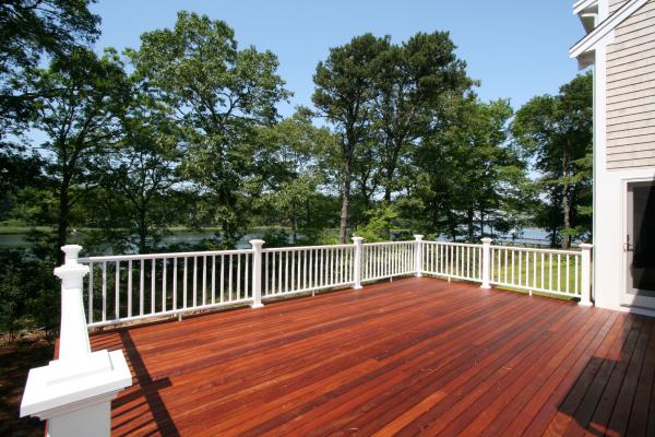 new deck Cape Cod