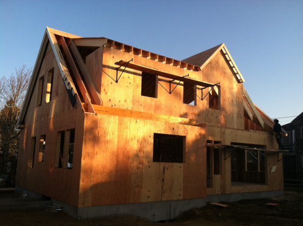 New Cape Cod homes