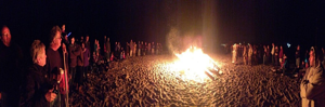 Yarmouth Seaside Festival beach bonfire resized 600