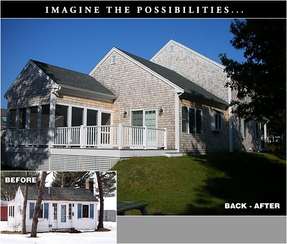 Remodeling on Cape Cod Before and After