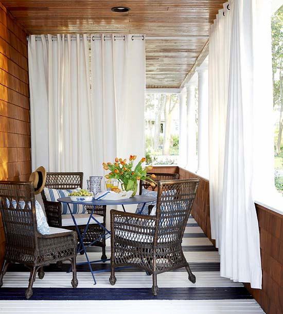 Outdoor Rooms on Cape Cod