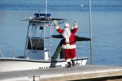 Santa on Cape cod