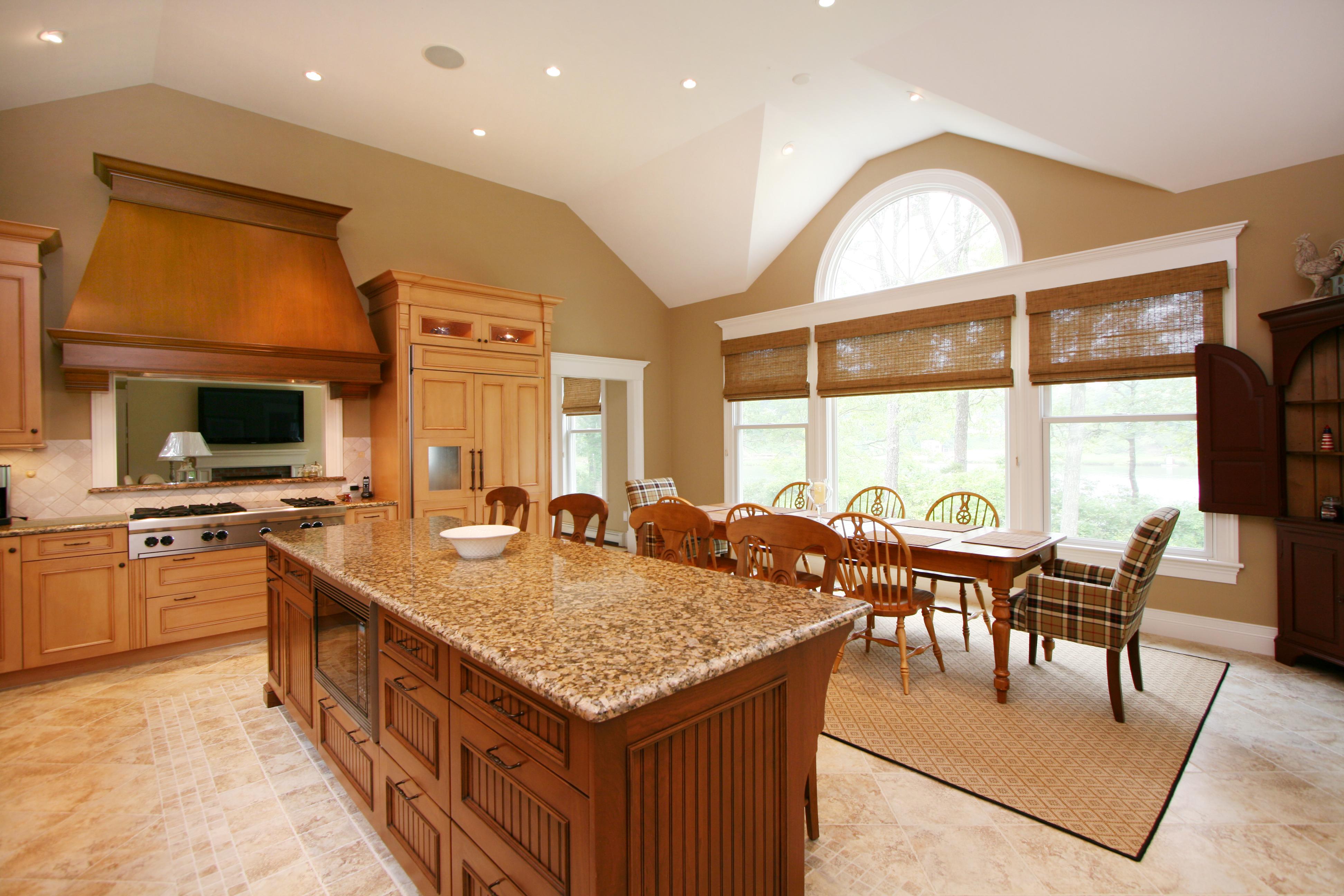 Beautiful custom kitchen on Cape Cod