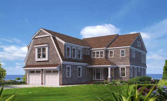 Cape Cod Waterfront Custom Home
