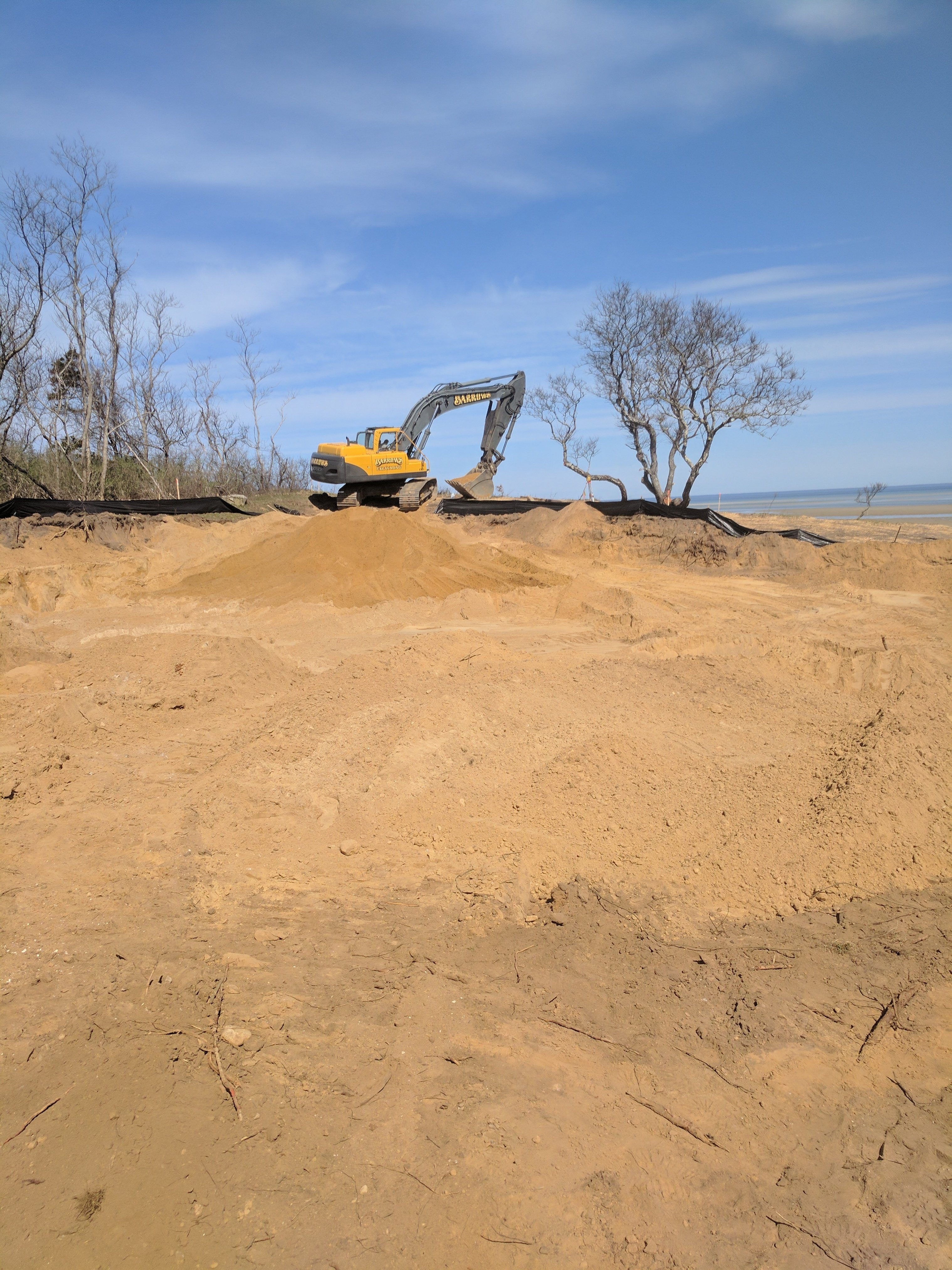 Waterfront Custom Home, REEF, Cape Cod, Beach Replenishment