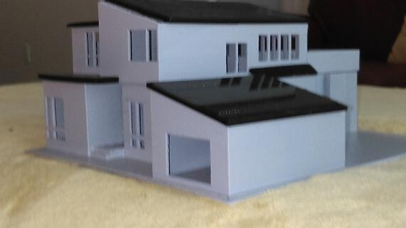 3D Printer Custom Home Cape Cod Builder