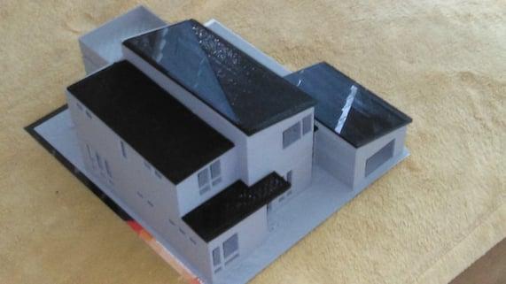 3D Model Custom Home Cape Cod