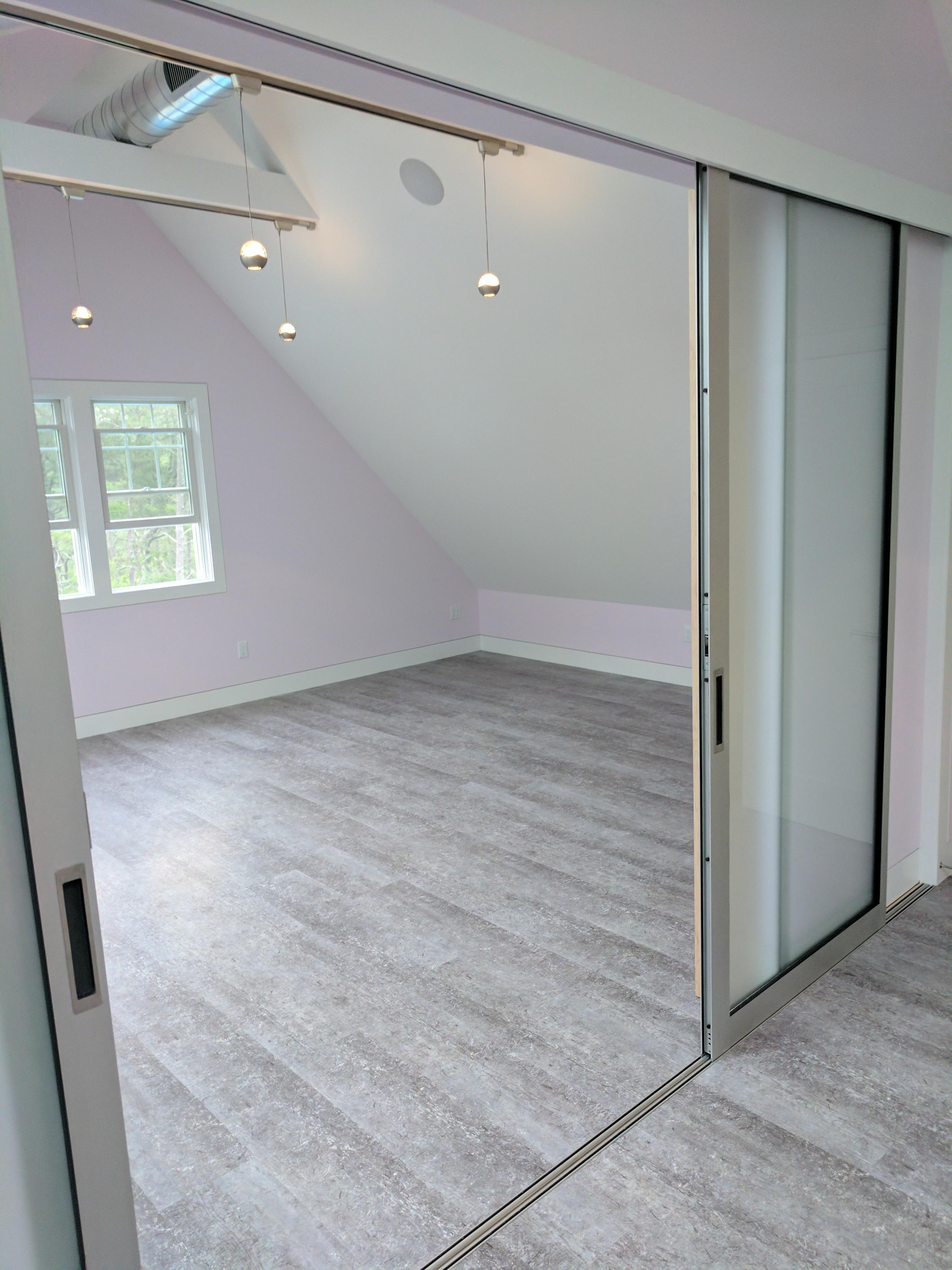 Cape Cod Builder, Custom Renovation, Studio, Vinyl Flooring