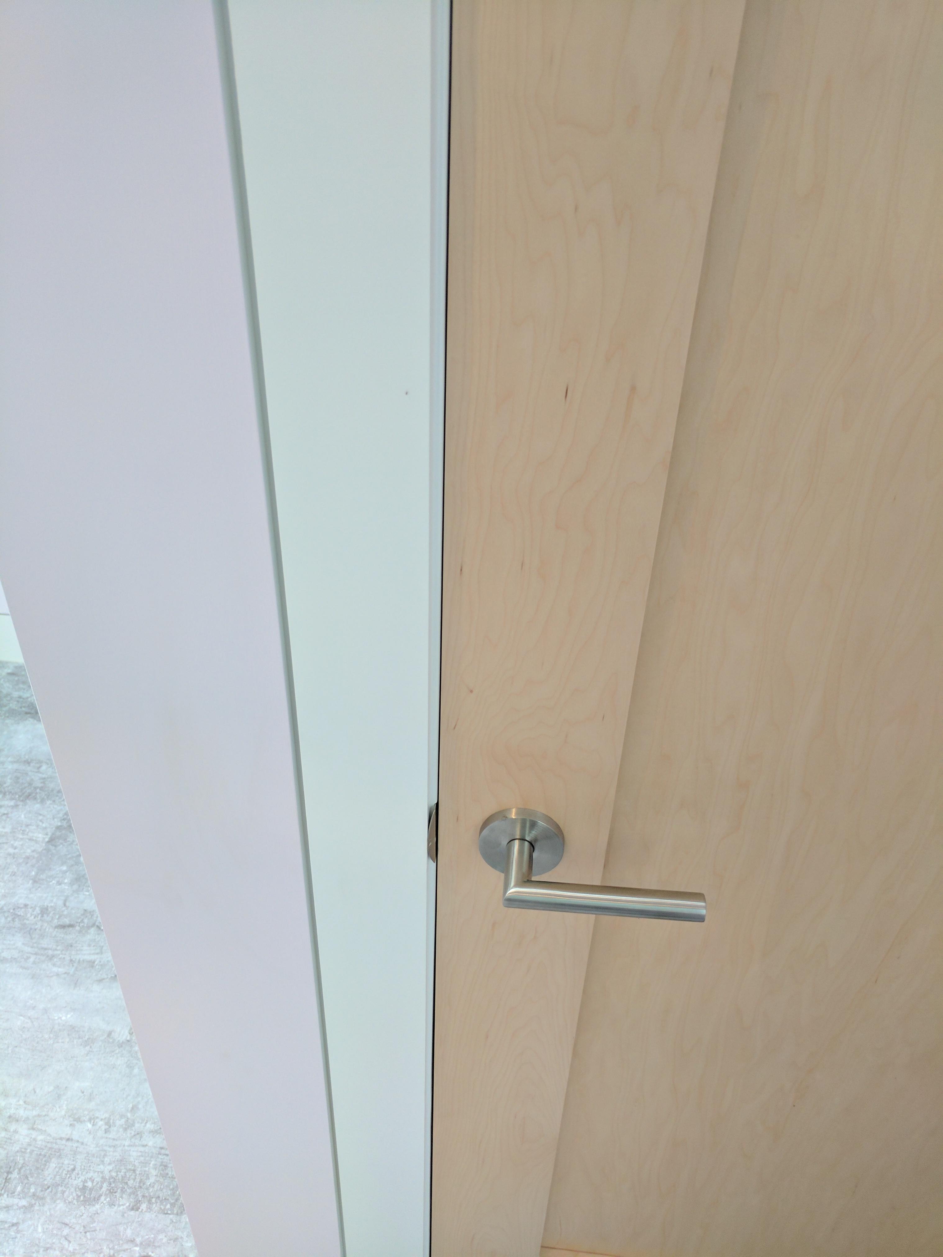 Cape Cod Custom Renovation, Flush Trim, Maple Doors, REEF Builders