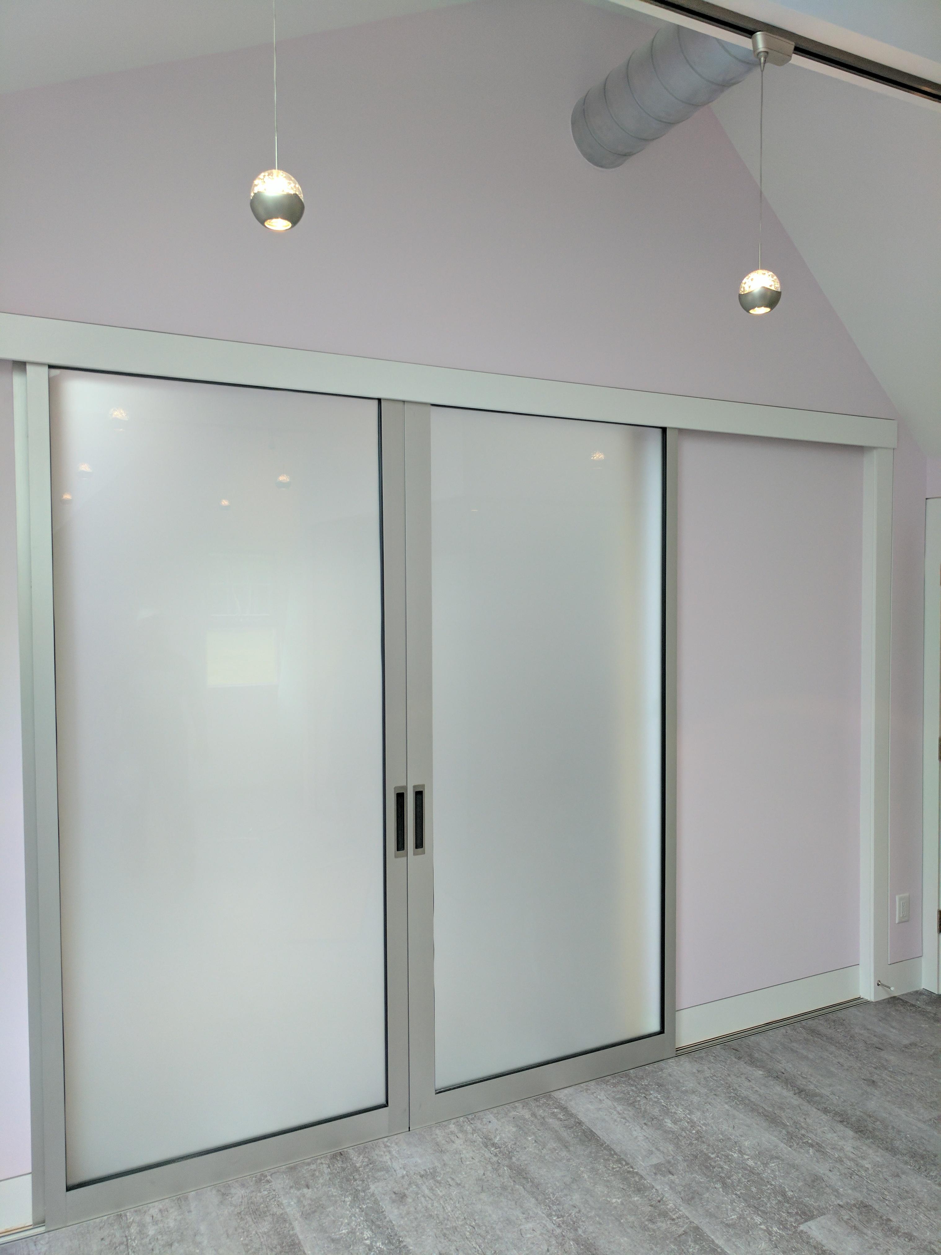 Cape Cod Renovation, Custom Builder, Sliding Door, Art Studio