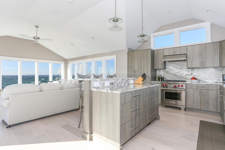 Truro Custom Kitchen, Waterfront, REEF, Cape Cod Builder