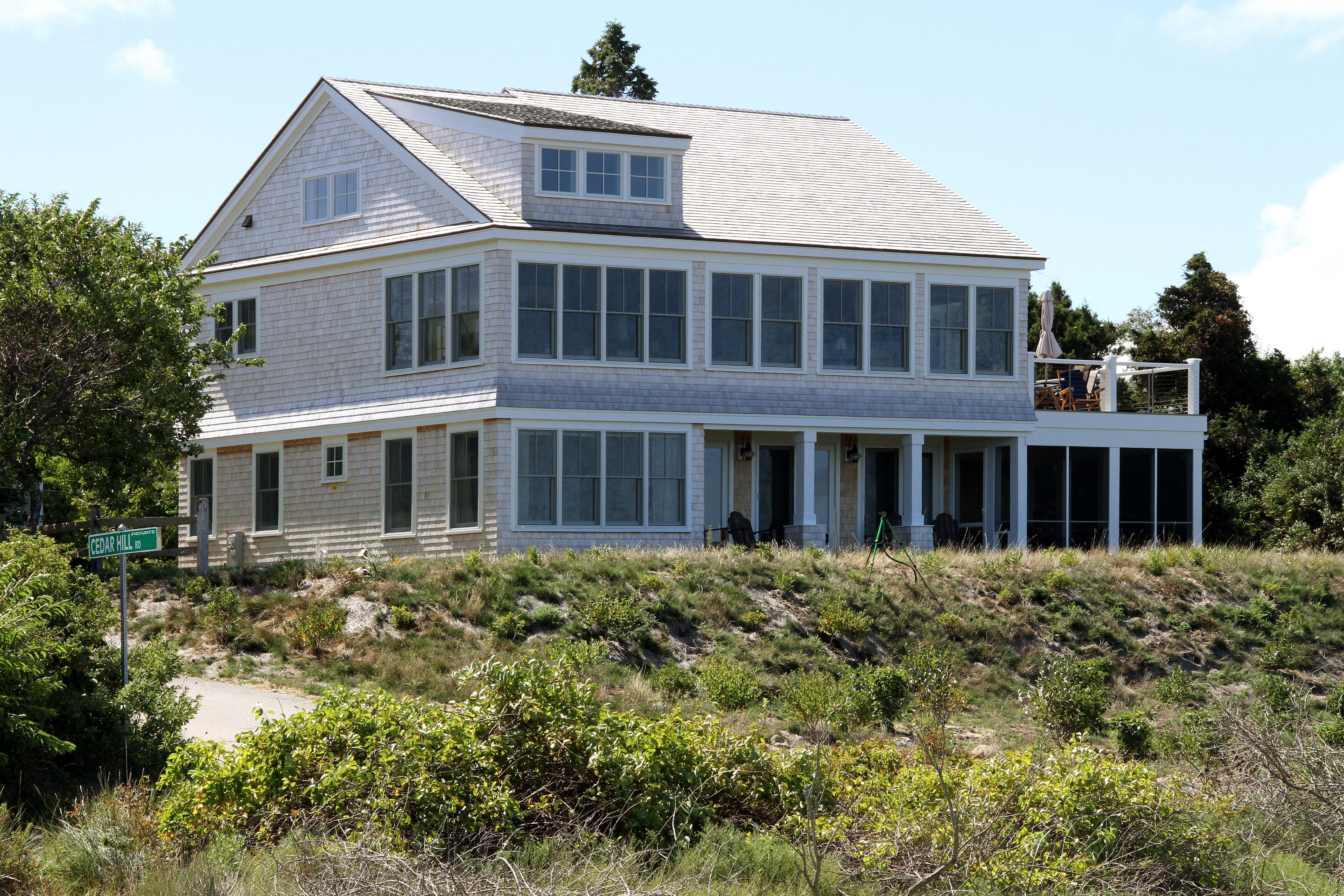 Cape Cod  Waterfront Custom Home Before and After