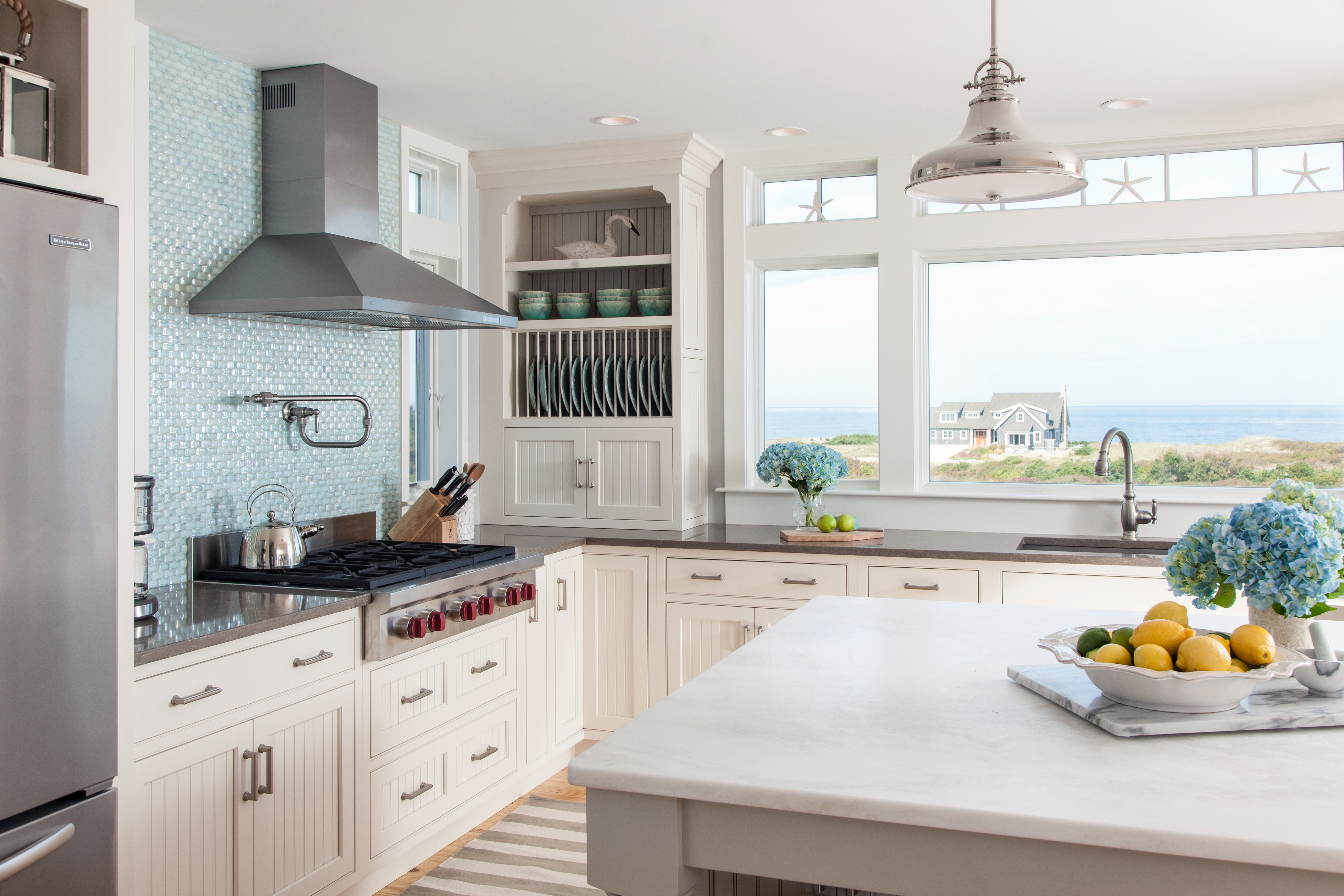 Dennis Bayview Cape kitchen stove with view.jpg