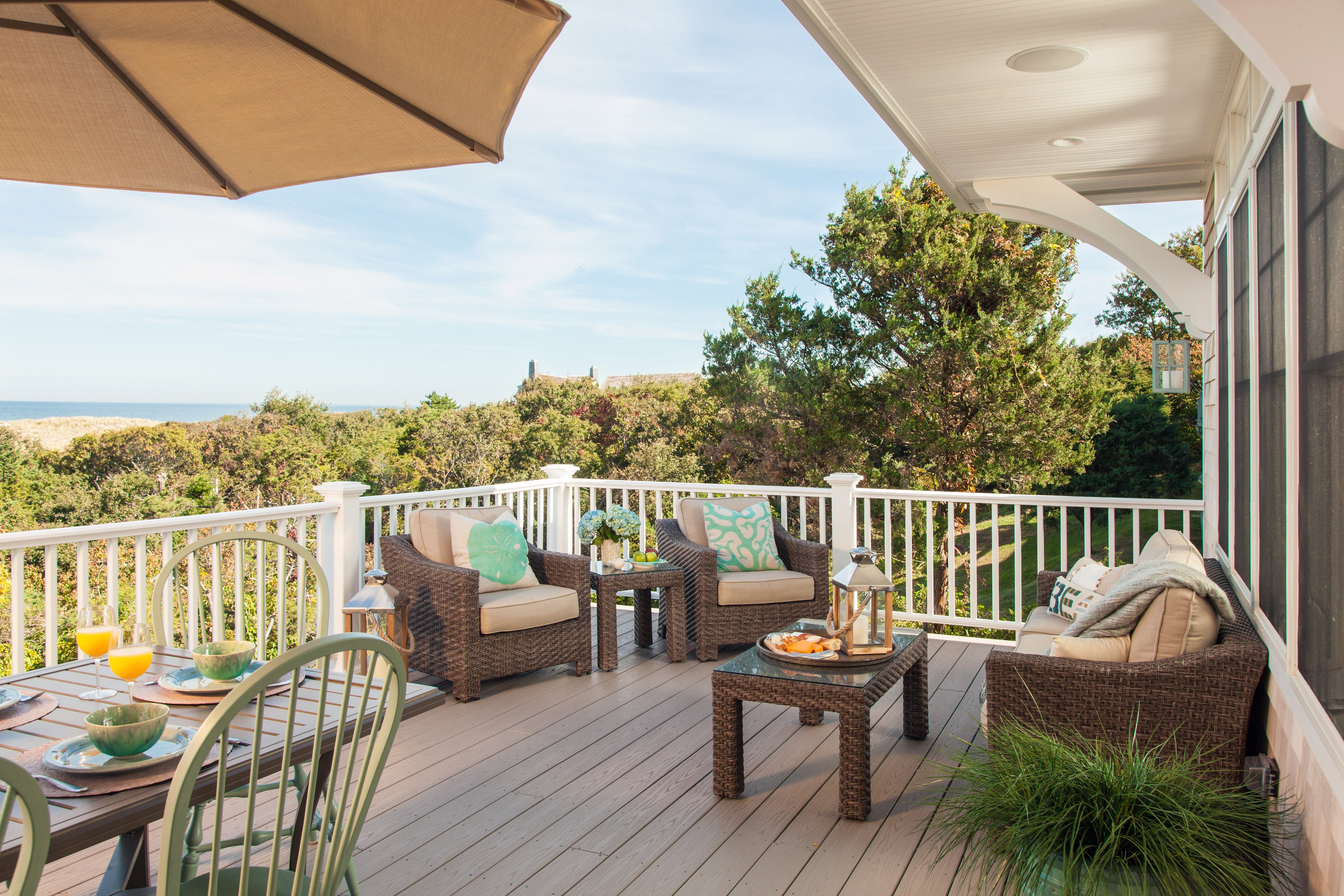 Million Dollar Cape Cod Bay view by REEF Builders