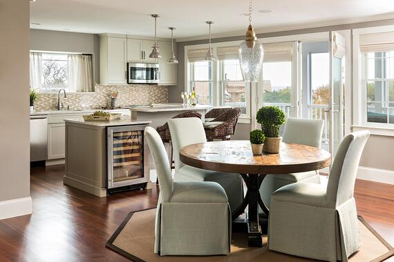 Cape Cod Custom Kitchen by REEF Builders Dennis