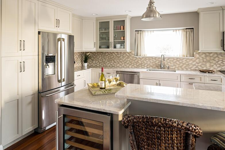 Cape Cod Custom Kitchen, Waterfront