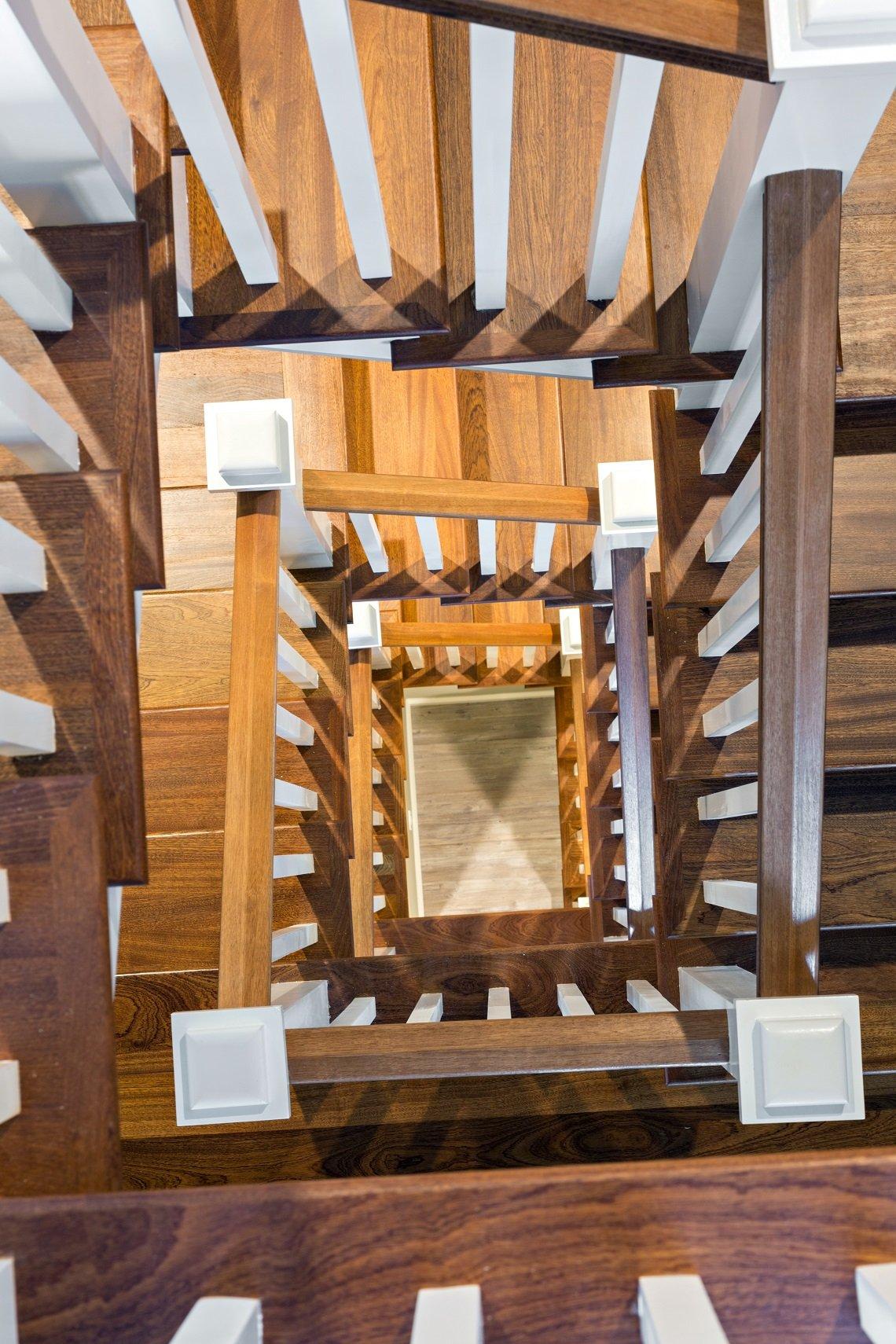 Custom Home Cape Cod, Stairs