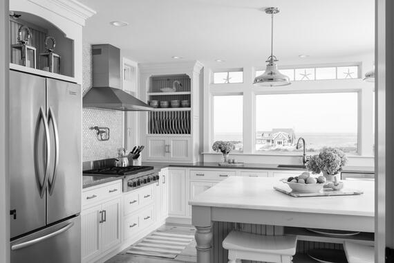Cape Cod Custom Kitchen by REEF Custom Builders Dennis