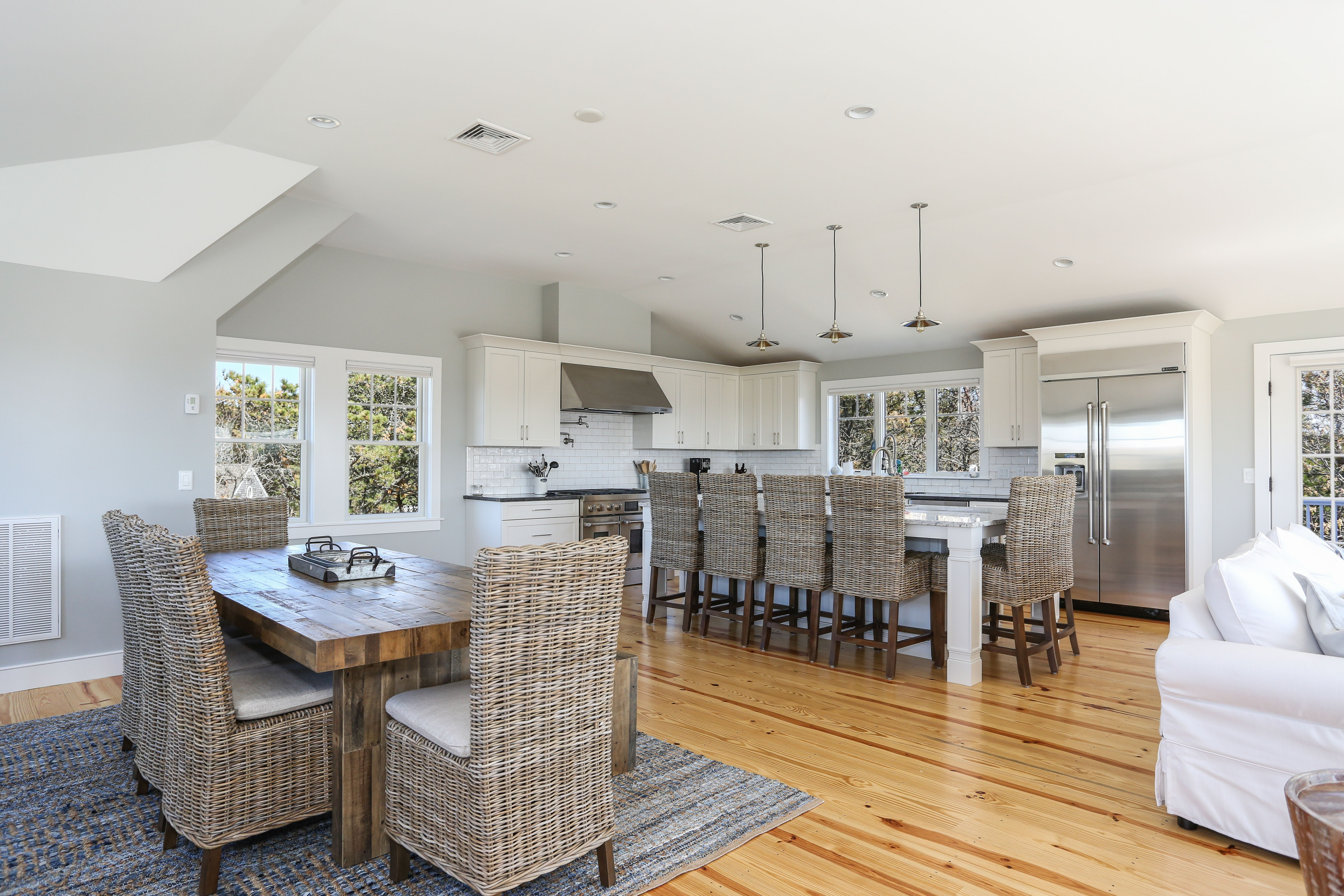 Custom Kitchen and Dining area