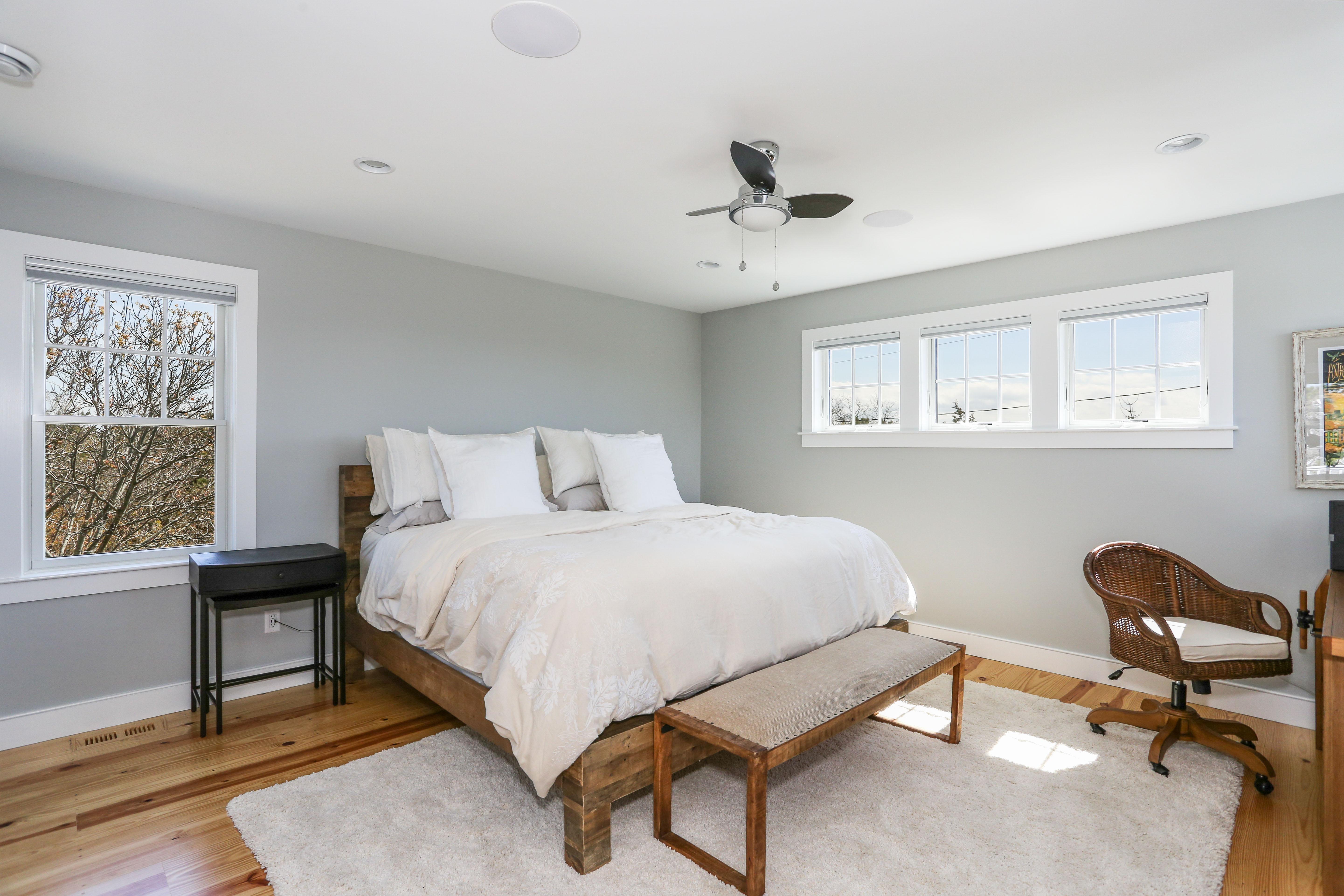 Custom Master Bedroom Beach house
