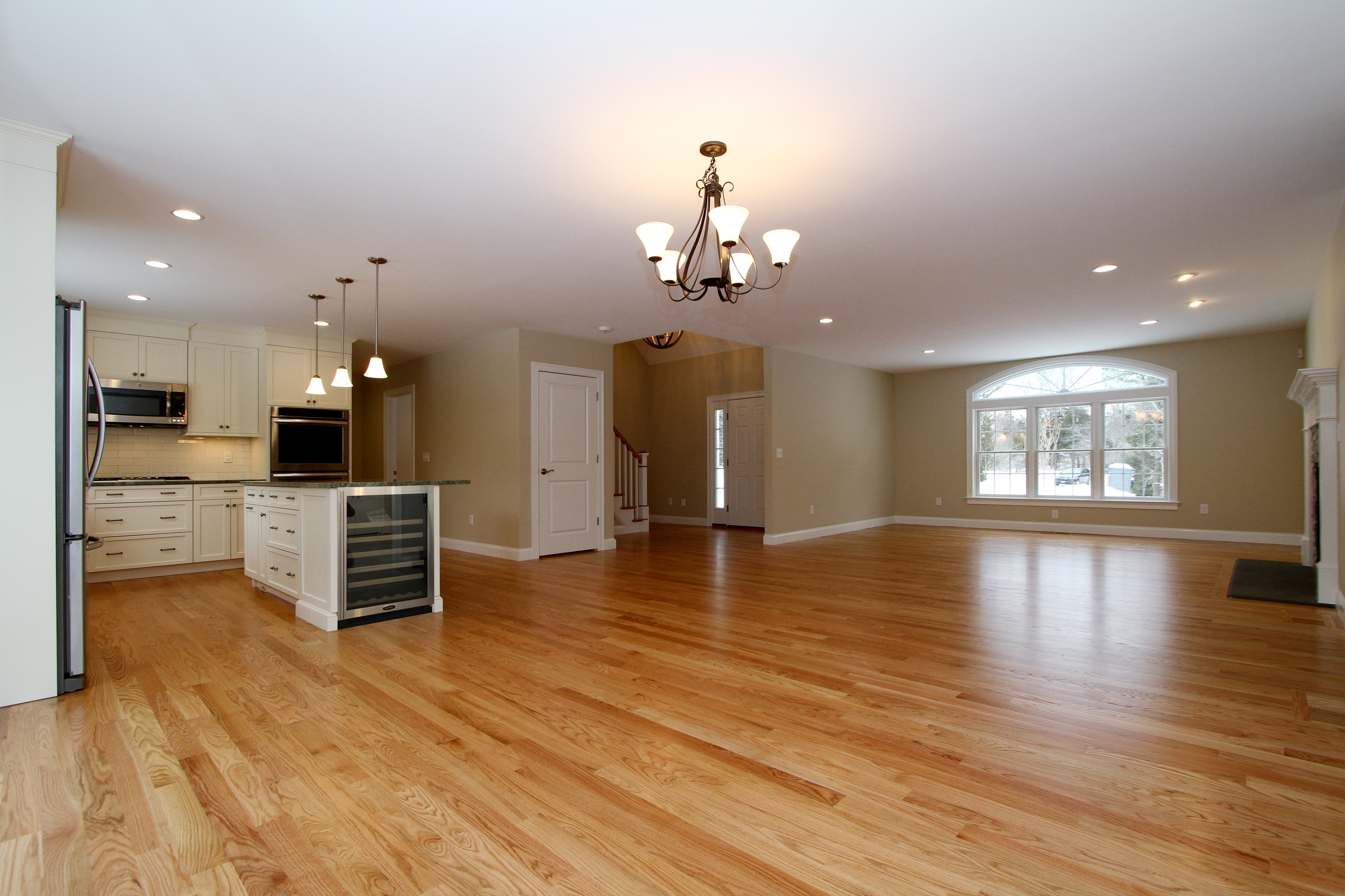 Beautiful open floor plan in Eastham on Cape Cod